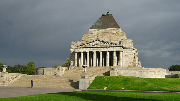 Shrine of Remembrance by Emma Frost
