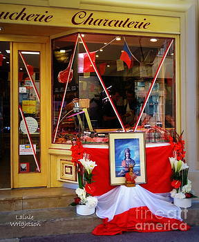 Shrine To St Tropez by Lainie Wrightson