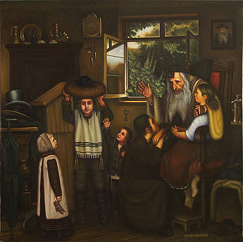 Shtraymel of Grandfather.  by Eduard Gurevich