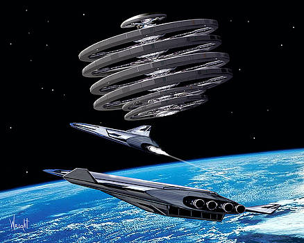 Shuttle Aerion-5 by Bill Wright