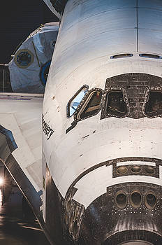 Shuttle Close Up by David Collins