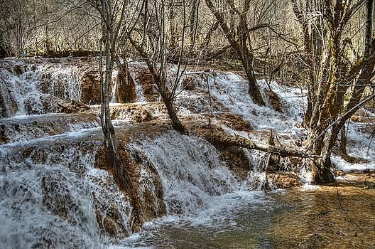 Shuzheng Waterfall China by Bill Hamilton