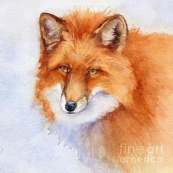 Shy Fox by Bonnie Rinier