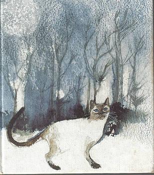 Siamese cat by Alida Bothma