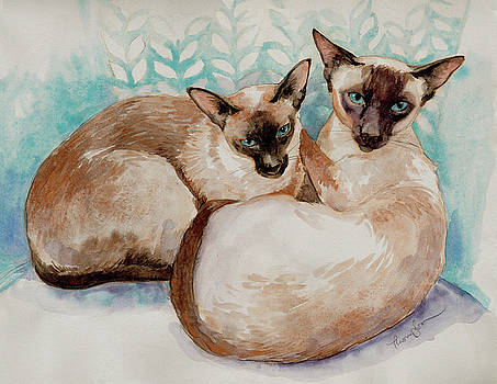 Siamese by Tracie Thompson
