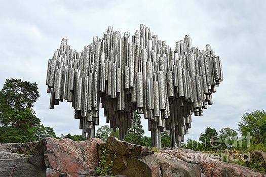 Sibelius Monument, Helsinki by Catherine Sherman