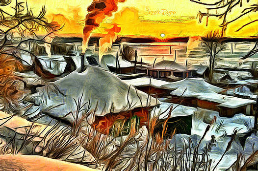 Siberian Winter by Leonardo Digenio
