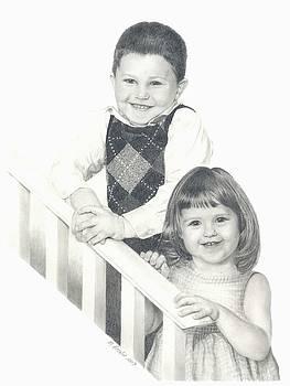 Siblings 3 by Marlene Piccolin