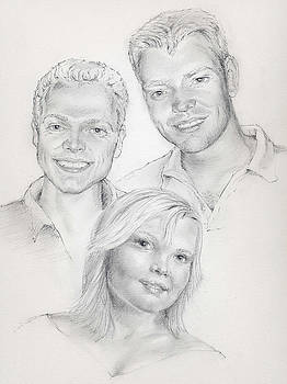 Siblings by Gill Kaye