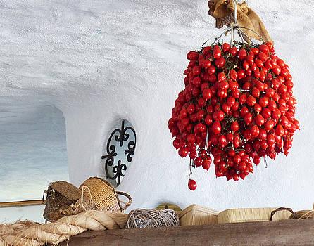 Sicilian Tomatoes by Carl Sheffer