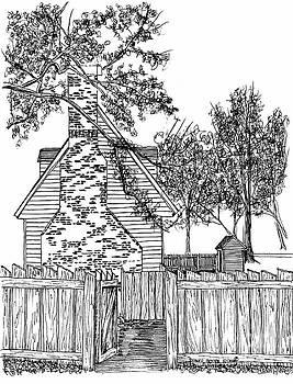 Side Gate to the Garden by Dawn Boyer