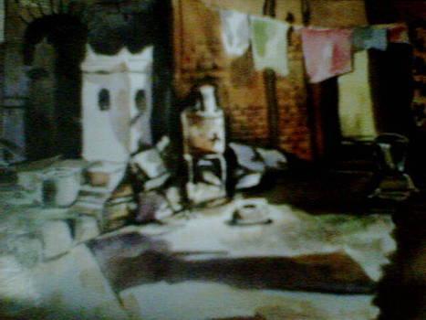 Side Of Slums by Jesna Jamal