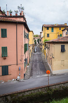 Side Street, Lucca, Italy by Amanda Adkisson