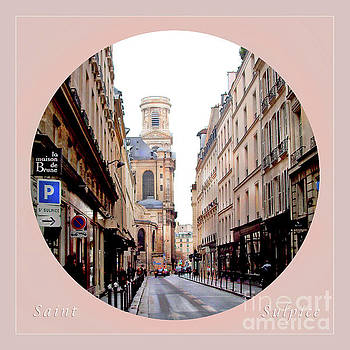 Felipe Adan Lerma - Side Street to Saint Sulpice Circle