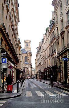 Felipe Adan Lerma - Side Street to Saint Sulpice