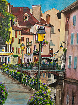 Charlotte Blanchard - Side Streets in Annecy