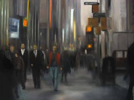 Sidewalk Series NYC by Sharon Ramsay