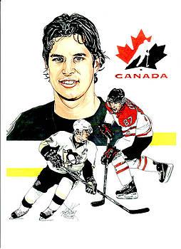 Sidney Crosby by Neal Portnoy