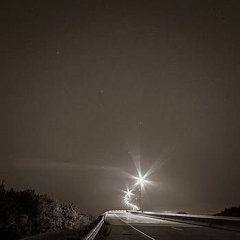 Chris Bordeleau - Sidney Lanier Bridge under the stars