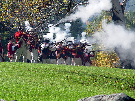 Siege of Fort William Henry  by Reni Boisvert