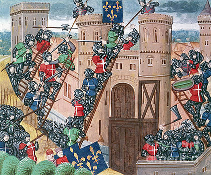 Siege of Pontaudemer, illustration by Science Photo Library