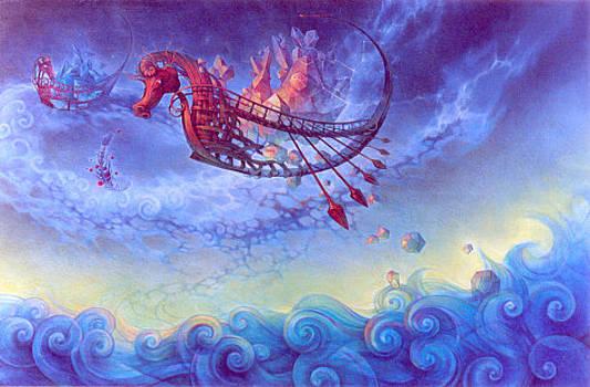 Siembra desde las naves by Martin LaSpina