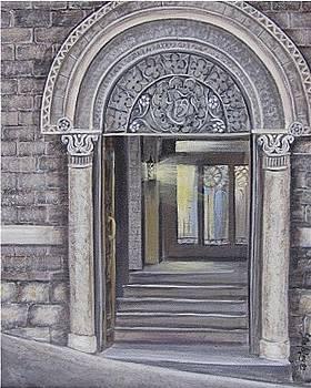 Siena Doorway by Elaine Balsley