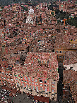 Siena from above by Jim Wright
