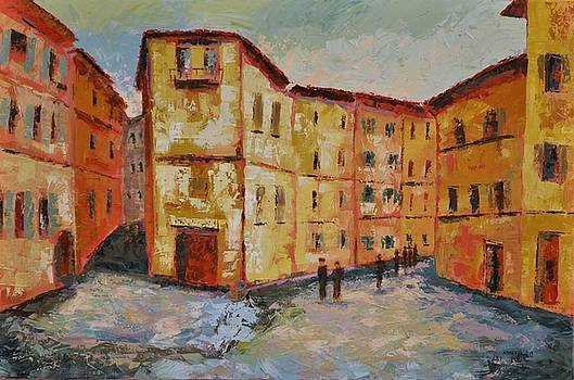 Siena Italy by Ginger Concepcion
