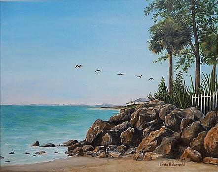 Siesta Key Rocks by Leda Rabenold