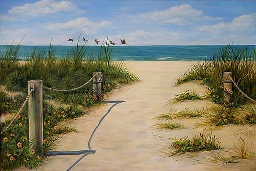 Siesta Key Turtle Beach III by Leda Rabenold