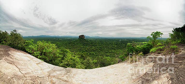 Sigiriya Panorama by Venura Herath