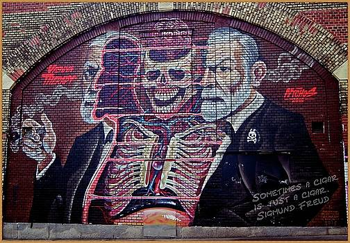 Sigmund Freud 2 by Nastja Stamenkovic