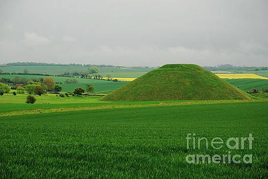 Silbury Hill by Richard Gibb