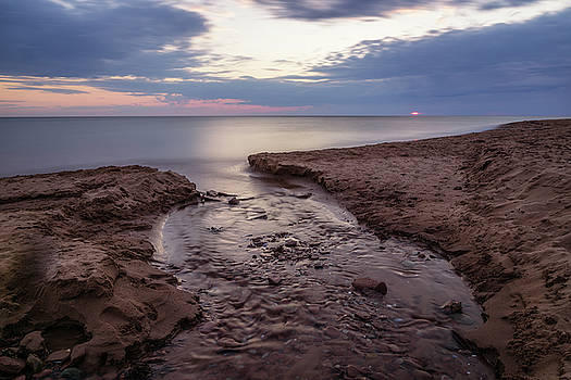 Silence and Solitude at Cavendish Beach by Chris Bordeleau