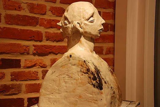 Silence of Her Departure I by Derek Weisberg