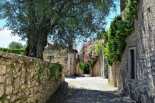 Silent alley in Locanda San Vigilio by Joachim G Pinkawa