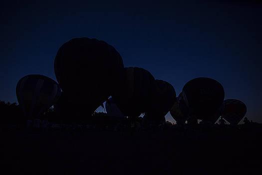 Silhouette Balloons by CJ Schmit