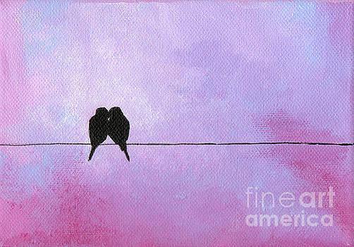 Silhouette Birds by Julia Underwood