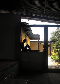 Jennyfer - Silhouette in Window