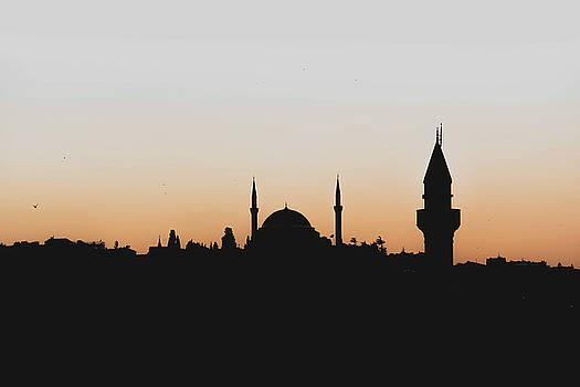 Dayton ODonnell - Silhouette of Istanbul