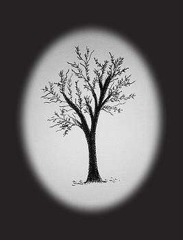 Silhouette Tree by Nelma Grace Higgins