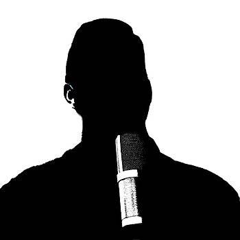 Silhouette Vocal Music Man by Joey OConnor