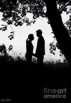 Julian Starks - Silhouetted Couple