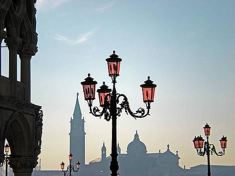 Mary Attard - Silhouettes in Venice