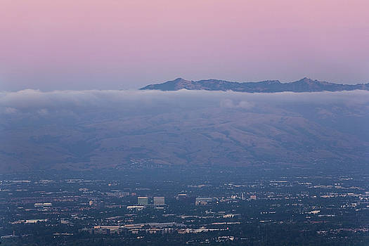Silicon Valley at Dusk by Matt Tilghman