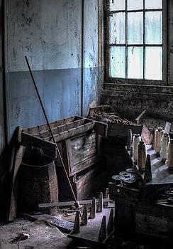 Silk mill workroom #2 by Greg Croasdill