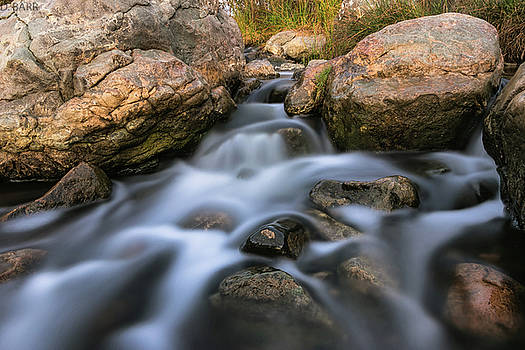 Silk over Rocks by Doug Barr