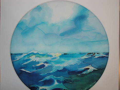 Silky Seas by Evelyn Cassaday