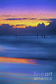 Dan Carmichael - Silky Sunrise Reflections Outer Banks AP